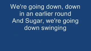 Gambar cover Fall Out Boy - Sugar We're Going Down With Lyrics! HQ