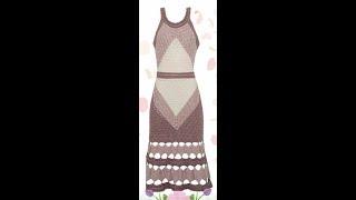 Crochet Dress| For Free |crochet Patterns| 3075