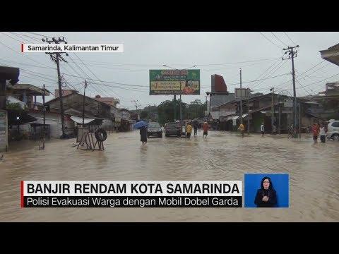 Banjir Rendam 3 Kecamatan di Samarinda, Ribuan Warga Mengungsi