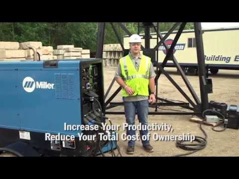 Miller Big Blue 800 Duo Air Pak повышает производительность труда и снижает совокупную стоимость владения