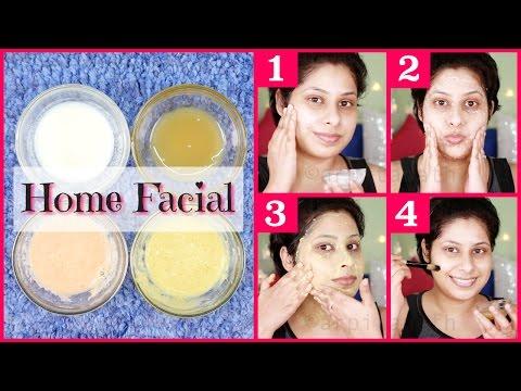 Skin Whitening Milk Facial At Home    Get Lighter & Glossy Skin