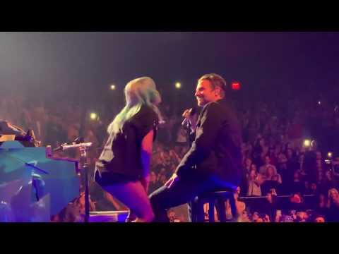 Bradley Cooper Lady Gaga Shallow Live at Park Theater Las Vegas