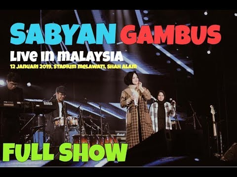, title : 'SABYAN LIVE IN MALAYSIA 2019 (FULL CONCERT)'
