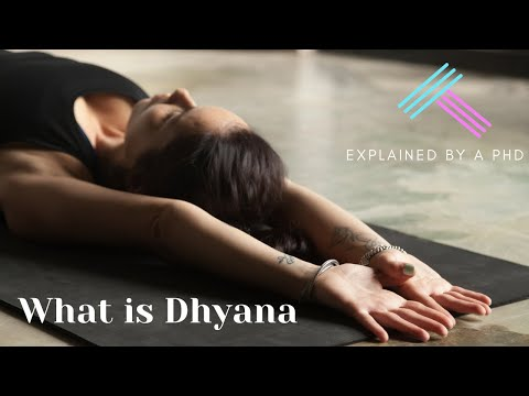 What is Dhyana? 7th limb of yoga
