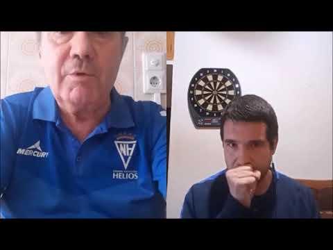 """Entrevista a Juan Carlos Ruiz de Lazcano """"Chirri"""", Director Deportivo del Helios."""