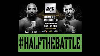 UFC 221: Romero vs Rockhold Bets, Picks, Predictions on Half The Battle (UFC Perth)