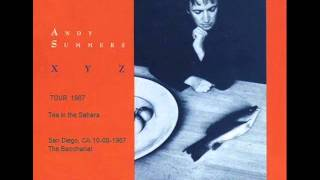 ANDY SUMMERS - Tea in the Sahara (San Diego,CA 10-08-1987 The Bacchanal)