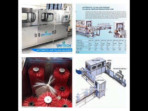 20 Liter Automatic Jar Filling Machine