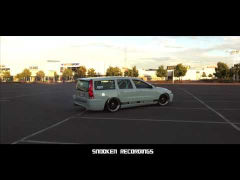 Volvo V70 T5 rwd 500hp || burnout and drifitng