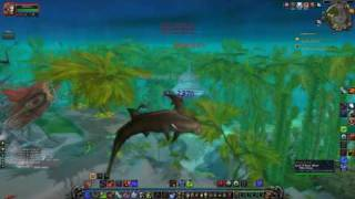 Warcraft - Cataclysm Vashj'ir Playthrough Part 8: WHALE SHARK 12 O'CLOCK