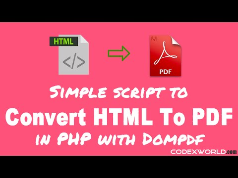 mp4 Html To Pdf Download Php, download Html To Pdf Download Php video klip Html To Pdf Download Php