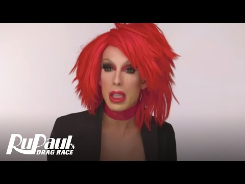 RuPaul's Drag Race | RuVealing Alaska's 'Red For Filth' Make Up Tutorial | Logo