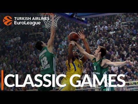 CLASSIC GAMES: Panathinaikos vs. Maccabi, 2012