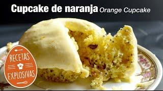 Cupcakes de Naranja - Recetas Explosivas