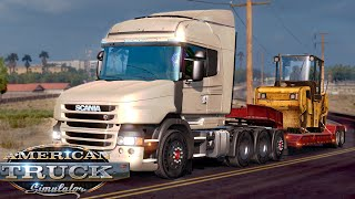 American Truck Simulator: Scania T 730 (Los Angeles - Fresno) Gameplay #4