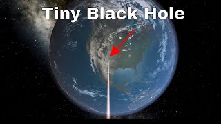 What if Someone (i.e Thanos) Dropped a Tiny Black Hole on Earth?