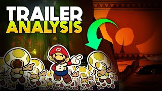 Paper Mario: The Origami King - Trailer ANALYSIS!