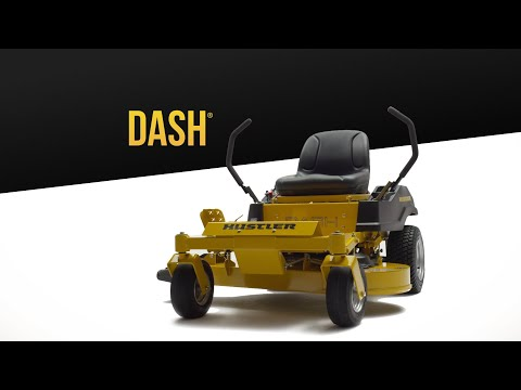 2019 Hustler Turf Equipment Dash 34 in. Briggs & Stratton PowerBuilt Zero Turn Mower in Mazeppa, Minnesota - Video 1