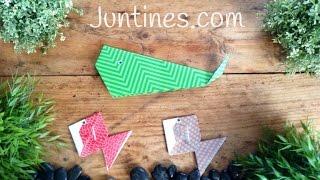 ORIGAMI fácil para niños | BALLENA de papel origami