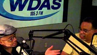 Tony Brown of WDAS with Singer Chris Walker