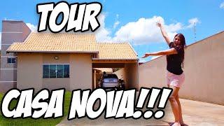 TOUR PELA MINHA CASA NOVA!!! #minhaRealidade🏡👨👩👧👧🐕