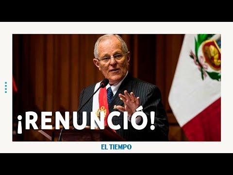 Renuncia el presidente de Perú l EL TIEMPO l CEET