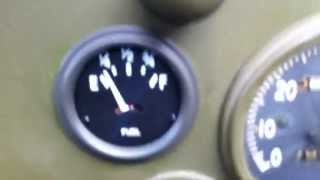 WWII Willys Jeep: Bad Fuel Gauge or Sender Unit or Contact?