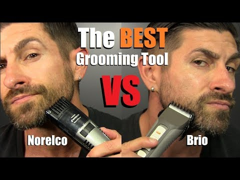 Who Makes The BEST Beard Grooming Tool | Norelco vs Brio | * NON-Sponsored* Review & Comparison