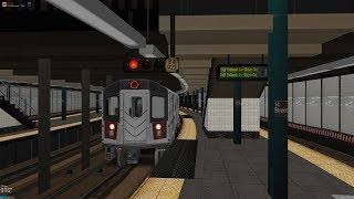 OpenBVE ▻5 Train to 149th Street Grand Concourse◁ (R142