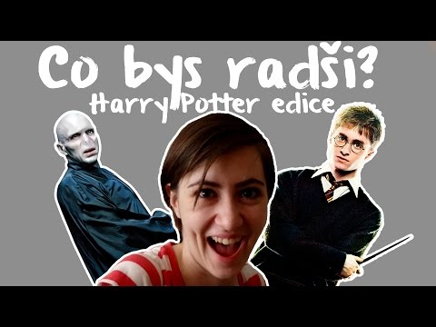 CO BYS RADŠI | Harry Potter edice + seznamte se s mým zvěřincem