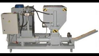 Пресс гидравлический для топливных брикетов. Hydraulic press.