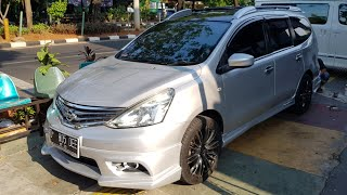 BODYKIT NISSAN GRAND LIVINA With Roof Rail