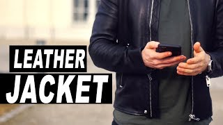 How To Choose A Leather Jacket For Men! GOOD Vs BAD!