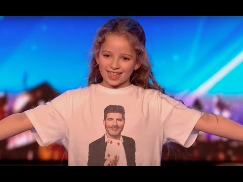 8 YO Girl Issy SHOCKS Everyone With Her Magic | Audition 2 | Britain's Got Talent 2017 (видео)