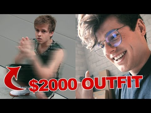 I BOUGHT HIM AN *UGLY* $2000 GUCCI OUTFIT