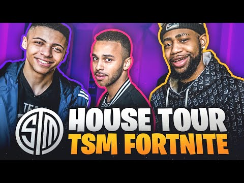 TSM Fortnite House Tour!