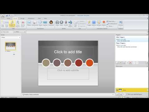 Articulate Storyline tutorial: Creating and using slide templates