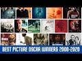 Best Picture Oscar Winners 2000 2020 v