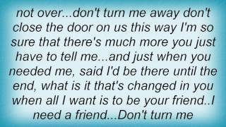 Air Supply - Don't Turn Me Away Lyrics