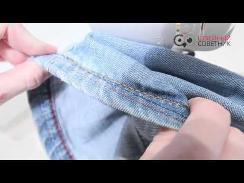 Тест на джинсе Janome 2020
