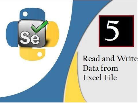 Selenium Python : Read & Write Data to Excel (OpenPyXl)[CL ...