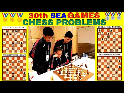 30th SEA GAMES CHESS PROBLEMS - GOLD!!! (PHILIPPINES) + SHOUT-OUTS!!