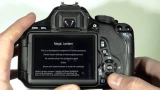 Magic Lantern. Вторая жизнь Canon 600D. Как установить.