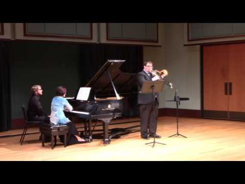 This is a live recording from my masters recital of the full Derek Bourgeois Trombone Concerto
