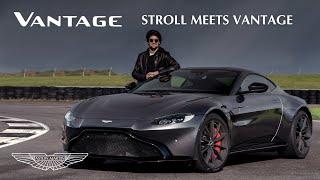 [오피셜] Lance Stroll drives the Aston Martin Vantage at Silverstone