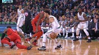 Shane Larkin Breaks CJ Miles Ankles | Raptors vs Celtics | Nov 12, 2017 | 2017-18 NBA Season