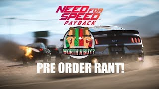 NFS Payback Pre Order Rant - Have some of my Payback