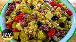 My Favorite Pasta Salad - Easy And Perfect For Summer Gatherings