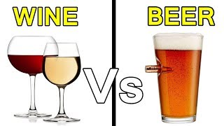 Difference Between Wine & Beer (Hindi)