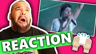 Louis Tomlinson & Steve Aoki Perform Just Hold On! | Finals | The X Factor UK 2016 [REACTION]